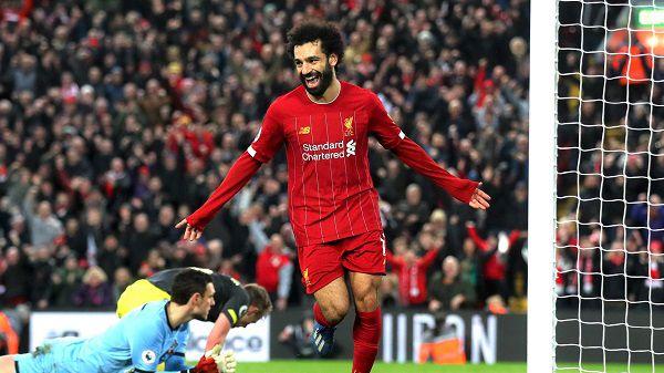 Cầu thủ người Ai Cập Mohamed Salah