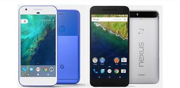 Google Pixel và Nexus