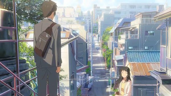Cảnh kết thúc Your Name - anime có doanh thu cao nhất