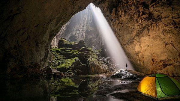 Vọng Khủng Long trong hang Sơn Đoòng