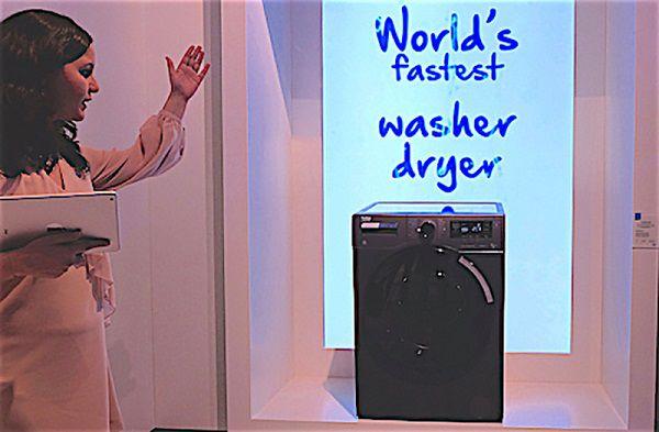 Máy giặt sấy Beko nhanh nhất thế giới