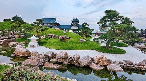 Nhà Bonsai tại Sun World Halong Complex