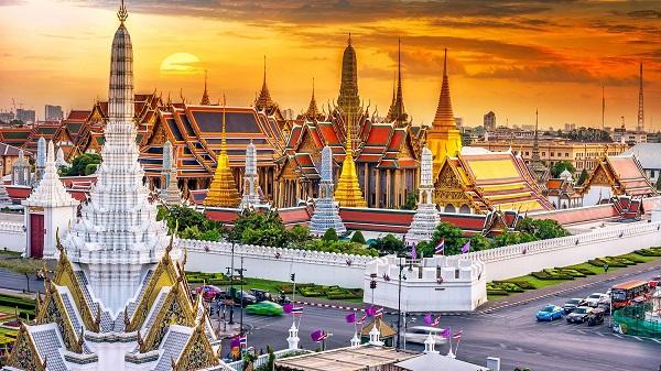 ngôi chùa ở Bangkok - Krung Thep