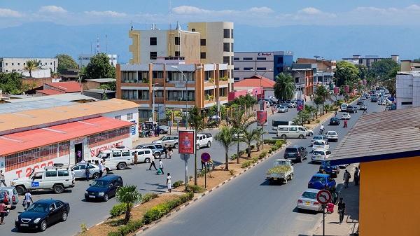 Thủ đô kinh tế Bujumbura của Burundi
