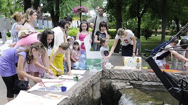Ngày môi trường thế giới năm 2011 tại Donetsk , Ukraine