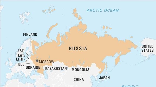 Đất nước có diện tích lớn nhất thế giới