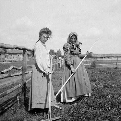 Người phụ nữ làm nông dân tại Nga