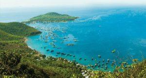 vịnh cam ranh 1 trong 3 vịnh đẹp nhất thế giới