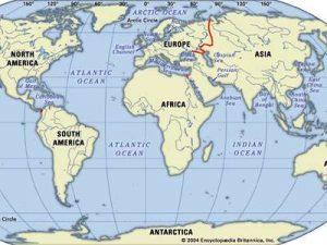 các châu lục trên thế giới bằng tiếng anh