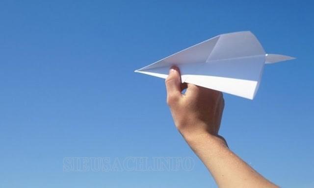 cách gấp máy bay giấy bay xa nhất thế giới