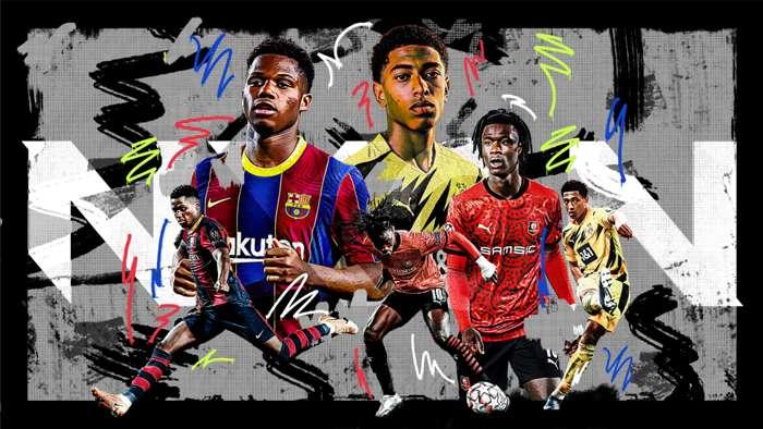 đội hình những cầu thủ trẻ xuất sắc nhất thế giới 2021