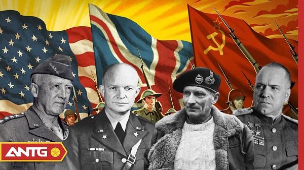 khối đồng minh trong thời chiến tranh thế giới thứ hai