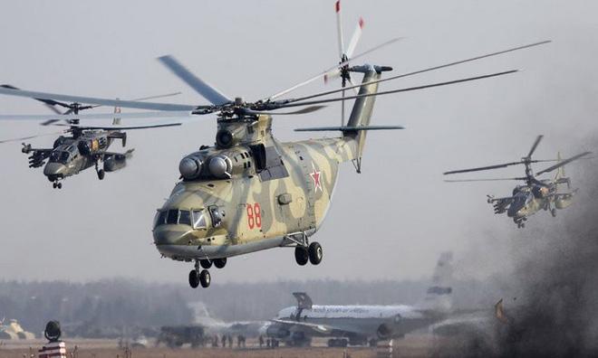 máy bay trực thăng vận tải lớn nhất thế giới