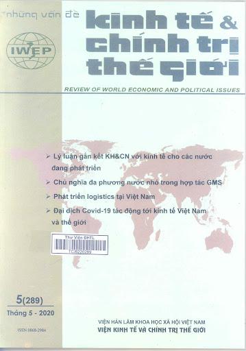 tạp chí những vấn đề kinh tế và chính trị thế giới