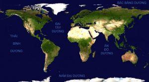 đại dương lớn nhất thế giới là gì
