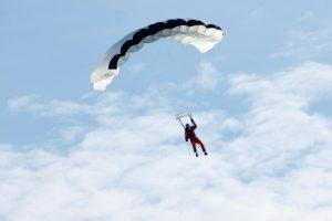 người nhảy dù đầu tiên trên thế giới